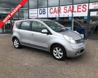USED 2008 08 NISSAN NOTE 1.4 ACENTA 5d 88 BHP NO DEPOSIT AVAILABLE, DRIVE AWAY TODAY!!