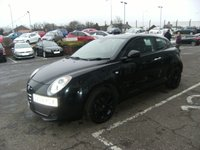 USED 2010 59 ALFA ROMEO MITO 1.4 TURISMO 16V 3d 95 BHP FREE 6 MONTHS RAC WARRANTY AND FREE 12 MONTHS RAC BREAKDOWN COVER