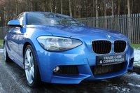 2013 BMW 1 SERIES 2.0 120D M SPORT 3d 181 BHP £10500.00