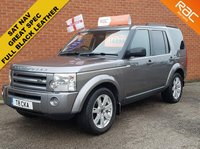 2009 LAND ROVER DISCOVERY 2.7 3 TDV6 XS 5d AUTO 190 BHP  LEATHER - SAT NAV -  7 SEATS £SOLD