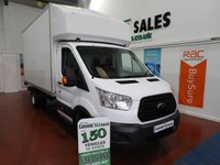 2015 FORD TRANSIT 2.2 350 LUTON DRW 125 BHP TAIL LIFT WITH FSH CHOICE OF 2  £12795.00