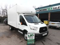 2015 FORD TRANSIT 2.2 350 LUTON 124 BHP TWIN WHEEL TAIL LIFT FSH CHOICE OF 2 £11995.00