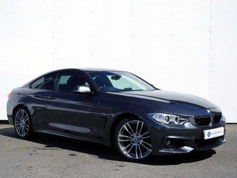 2015 BMW 4 SERIES 2.0 420I M SPORT 2d AUTO 181 BHP £17500.00