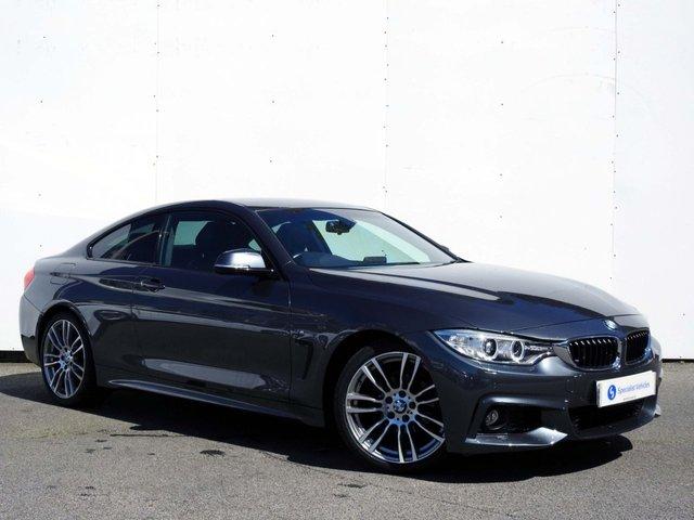2015 64 BMW 4 SERIES 2.0 420I M SPORT 2d AUTO 181 BHP