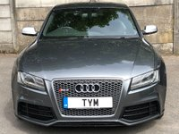 USED 2011 61 AUDI RS5 4.2 RS5 FSI QUATTRO 2d AUTO 444 BHP 2 OWNERS+FULLY LOADED SPEC