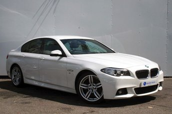 2014 BMW 5 SERIES 2.0 520D M SPORT 4d AUTO 181 BHP £SOLD
