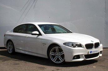 2014 BMW 5 SERIES 2.0 520D M SPORT 4d AUTO 181 BHP £17995.00