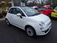 USED 2012 12 FIAT 500 1.2 LOUNGE 3d 69 BHP Comprehensive Service History, Just Serviced by ourselves, Minimum 9 months MOT, Great on fuel economy! Only £30 Road Tax!
