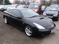 USED 2004 54 TOYOTA CELICA 1.8 VVT-I 3d 140 BHP EXCELLENT PERFORMANCE - EXCELLENT SPEC - SERVICE HISTORY - RARE ORIGINAL EXAMPLE - DRIVES SUPERBLY