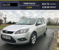 USED 2008 08 FORD FOCUS 1.6 ZETEC TDCI fsh £30 road tax full mot fresh service very clean car