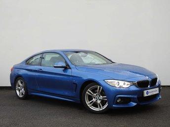 2014 BMW 4 SERIES 2.0 420D M SPORT 2d 181 BHP £17990.00