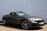 USED 2015 15 BMW Z4 2.0 Z4 SDRIVE20I M SPORT ROADSTER 2d AUTO 181 BHP FULL LEATHER with HEATED SEATS & COMFORT PACKAGE
