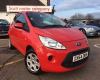 USED 2015 64 FORD KA 1.2 EDGE 3d 69 BHP