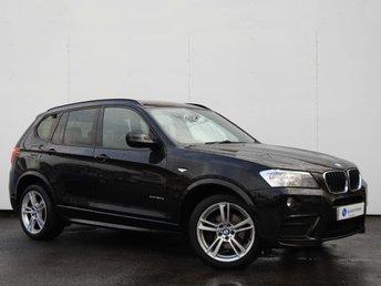 2012 BMW X3 2.0 XDRIVE 20D M SPORT 5d AUTO 181 BHP £17495.00