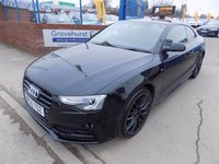 USED 2016 65 AUDI A5 2.0 TDI S LINE BLACK EDITION PLUS 3d 187 BHP
