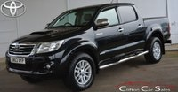 USED 2013 63 TOYOTA HI-LUX 3.0 D-4D INVINCIBLE 4x4 DOUBLE-CAB AUTO 169 BHP