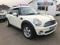 USED 2010 60 MINI CLUBMAN 1.6 ONE 5d 98 BHP Only 26644, Pepper pack, 12 months MOT, Just serviced!