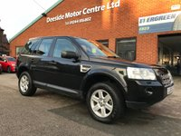 USED 2010 60 LAND ROVER FREELANDER 2.2 TD4 GS 5d AUTO 159 BHP Full service history,   Cloth upholstery,   Bluetooth,   Rear parking sensors,   LandRover terrain response system,   LandRover hill descent control system,