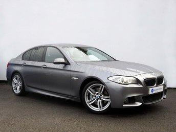 2012 BMW 5 SERIES 2.0 525D M SPORT 4d AUTO 215 BHP £14995.00
