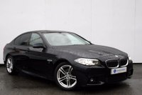 USED 2013 63 BMW 5 SERIES 2.0 520D M SPORT 4d AUTO 181 BHP GREAT EXAMPLE 520d SALOON IN THE STUNNING CARBON BACK METALLIC