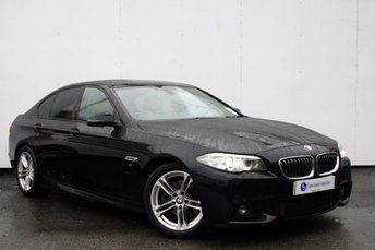 2013 BMW 5 SERIES 2.0 520D M SPORT 4d AUTO 181 BHP £12995.00