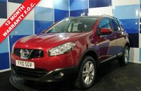 USED 2010 10 NISSAN QASHQAI 1.5 N-TEC DCI 5d 105 BHP Stunning looking example finished in wine red Metalic with 17 inch Nissan Alloy wheels, the interior is blessed with very good specification including the panoramic roof that looks black from outside and has electric opening blind, Satelite navigation, dual climate control, heated front and rear windscreens, 6 speed manual gearbox, all 4 electric windows with drivers 1 touch. this car is presented to you with a full service history full book pack and 2 keys. Stunning