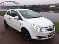 USED 2010 10 VAUXHALL CORSA 1.0 ENERGY ECOFLEX 3d 64 BHP **BLACK ALLOYS**