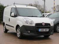 USED 2010 10 FIAT DOBLO 1.6 16V SX MULTIJET 1d 105 BHP CAMBELT AND WATERPUMP CHANGED + MOT DECEMBER 2018