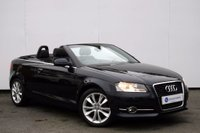 USED 2011 AUDI A3 CABRIOLET 1.2 TFSI SPORT 2d 105 BHP BEAUTIFUL EXAMPLE