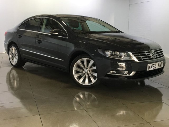 View our 2016 66 VOLKSWAGEN CC 2.0 GT TDI BLUEMOTION TECHNOLOGY 4d 148 BHP