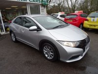 USED 2014 63 HONDA CIVIC 1.8 I-VTEC S 5d AUTOMATIC 140 BHP Low Mileage, Full Service History + Just Serviced by ourselves, NEW MOT (to be completed), One Previous Owner, Automatic