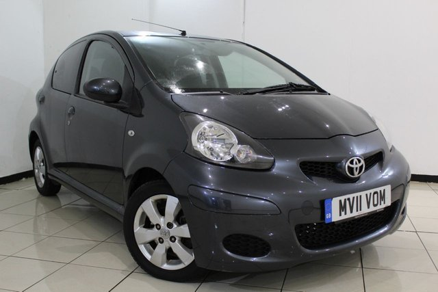 View our 2011 11 TOYOTA AYGO 1.0 VVT-I GO MM 5DR 67 BHP