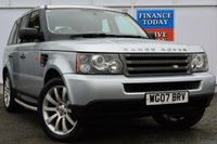 USED 2007 07 LAND ROVER RANGE ROVER SPORT 2.7 TDV6 SPORT S 5d AUTO 188 BHP 3 FORMER KEEPERS