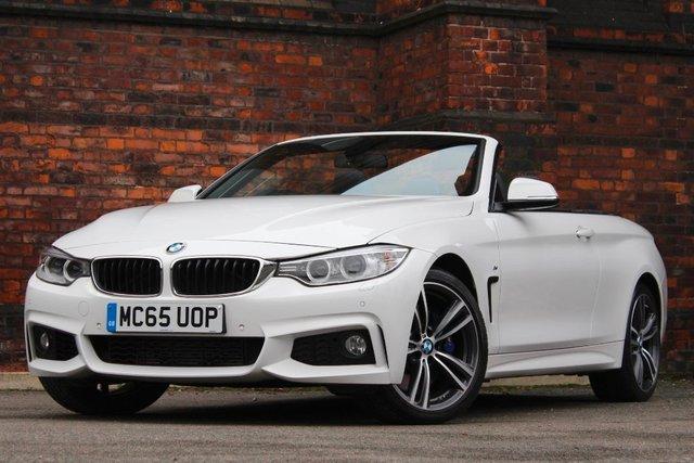 2015 65 BMW 4 SERIES 3.0 435d M Sport xDrive 2dr
