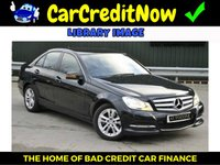 2012 MERCEDES-BENZ C CLASS 2.1 C220 CDI BLUEEFFICIENCY SPORT 4d 168 BHP £12995.00