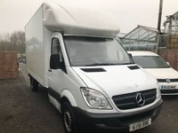 USED 2011 61 MERCEDES-BENZ SPRINTER 2.1 313 CDI LWB 1d 129 BHP LUTON BOX