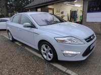 USED 2012 12 FORD MONDEO 1.6 TITANIUM TDCI 5d 114 BHP FULL FORD SERVICE HISTORY, 2 KEYS, SONY DAB RADIO, FOLDING MIRRORS