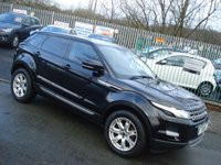 USED 2013 63 LAND ROVER RANGE ROVER EVOQUE 2.2 SD4 PURE TECH 5d AUTO 190BHP 4WD 1OWNER+SATNAV+GLASS SUNROOF+