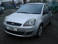 USED 2006 06 FORD FIESTA 1.2 STYLE CLIMATE 16V 3d 78BHP MOT JULY 18+AIRCON+2KEYS+CD+