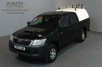 USED 2013 63 TOYOTA HI-LUX 2.5 HL2 4X4 D-4D 142 BHP MWB A/C ONE OWNER FROM NEW, FULL SERVICE HISTORY