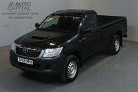 USED 2014 64 TOYOTA HI-LUX 2.5 ACTIVE 4X4 D-4D 142 BHP MWB A/C ONE OWNER FROM NEW