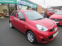 USED 2013 63 NISSAN MICRA 1.2 VISIA 5d 79 BHP LOW TAX AND LOW INSURANCE ..JUST ARRIVED