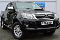 USED 2014 64 TOYOTA HI-LUX 3.0 INVINCIBLE 4X4 D-4D DCB 1d AUTO 169 BHP ONE REGISTERED KEEPER