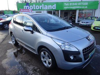 2010 PEUGEOT 3008 1.6 EXCLUSIVE HDI 5d AUTO 110 BHP £6000.00