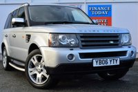 USED 2006 06 LAND ROVER RANGE ROVER SPORT 2.7 TDV6 HSE 5d AUTO 188 BHP ONE OWNER FROM NEW
