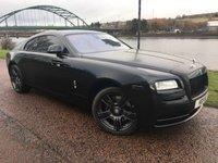 2014 ROLLS-ROYCE WRAITH 6.6 V12 2d AUTO 624 BHP £153990.00