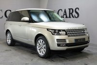 USED 2013 13 LAND ROVER RANGE ROVER 3.0 TDV6 VOGUE SE 5d AUTO 258 BHP DEPLOYABLE STEPS LAND ROVER REAR ENTERTAINMENT SIX DVD CHANGER FULL LAND ROVER SERVICE HISTORY WITH SERVICE JUST COMPLETED HEATED/ CHILLED AIR CONDITIONED ELEC MEM SEATS FRONT AND REAR ELECTRIC HEATED STEERING WHEEL SPARE KEYS AND AUXILLARY HEATER
