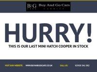 USED 2008 MINI HATCH COOPER 1.6 COOPER 3d 118 BHP FULL SERVICE HISTORY