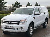 2014 FORD RANGER 2.2 XLT 4X4 DCB TDCI 1d 148 BHP £13995.00