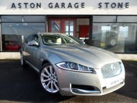 USED 2012 62 JAGUAR XF 3.0 D V6 PREMIUM LUXURY SPORTBRAKE AUTO 240 BHP **F/J/S/H * LEATHER ** ** F/S/H * 1 OWNER * NAV * CAMERA **